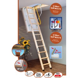 Minka Polar Extrem Attic Ladder supplied and fitted