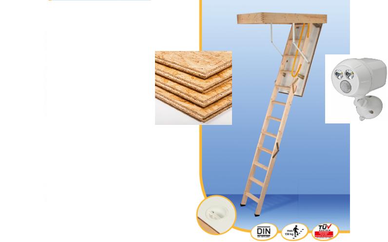 MINKA COMPLETE + OSB Flooring + Light